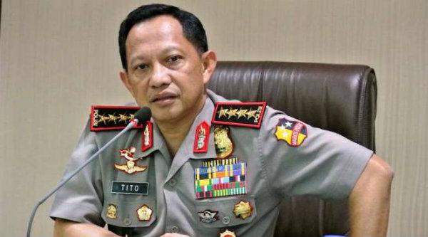Kapolri Jenderal Pol Tito Karnavian.[DOK]