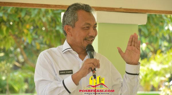 Wakil Walikota H Ahmad Syaikhu.[IDH]