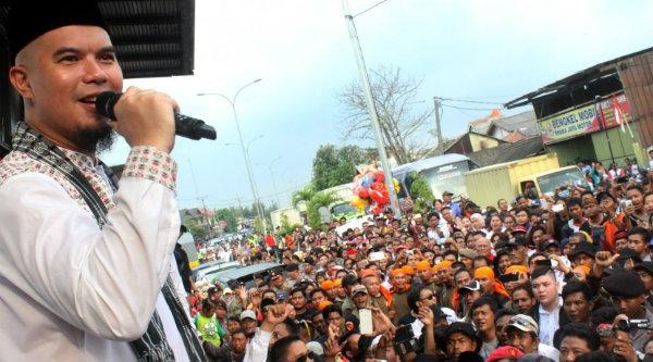 Cawabup Bekasi, Ahmad Dhani.[IST]