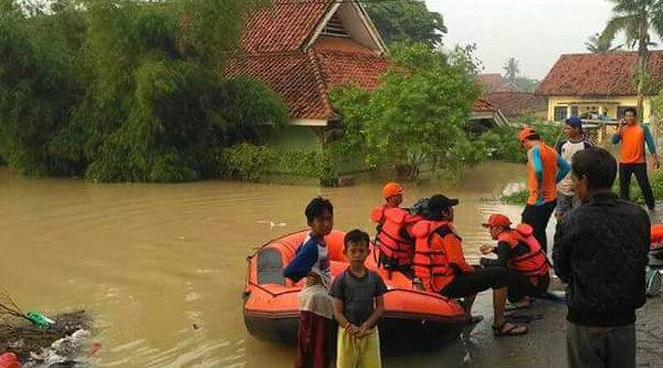 Banjir Karawang.[IST]