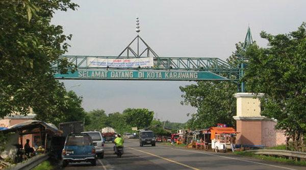 Kota Karawang.[IST]