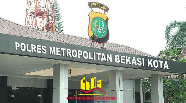 Polres Metro Bekasi Kota.[BEN]