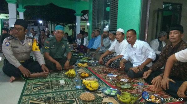Tiga Pilar Setu menghadiri acara Maulid Nabi Muhammad SAW di Kampung Cikedokan.[RAD]