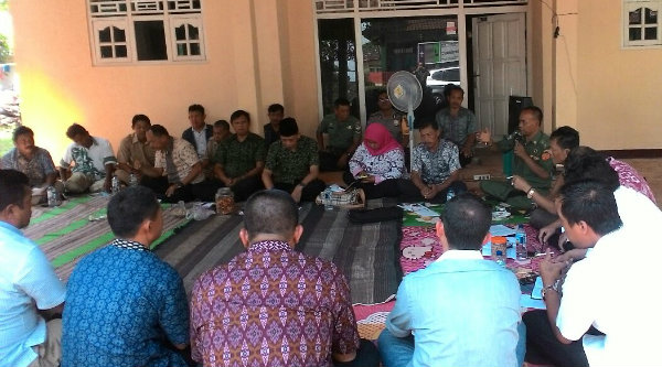 Rapat Minggon Desa Cibening.[RIN]