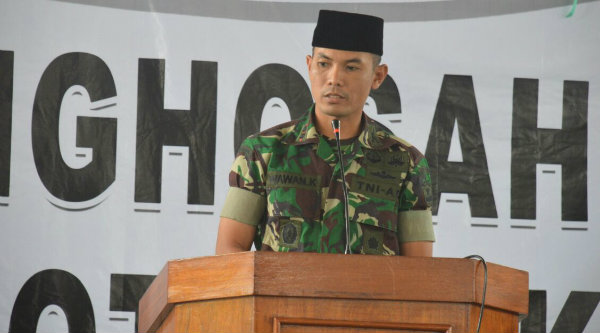 Dandim 0507 Kota Bekasi Letkol Inf Wawan Kusnendar.[BEN]