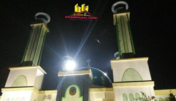 Masjid Agung Al Barkah Kota Bekasi.[HSB]
