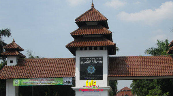 Islamic Center Kota Bekasi.[DOK]