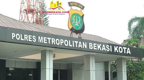 Polres Metro Bekasi Kota.[DOK]