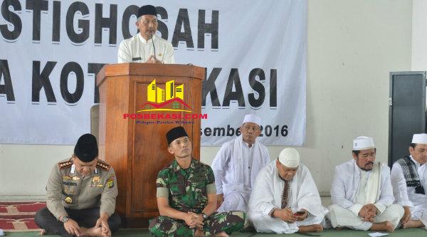 Wakil Walikota Bekasi H Ahmad Syaikhu.[BEN]
