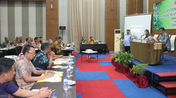 Walikota Bekasi, Rahmat Effendi, pada Workshop Gratifikasi Eksekutif di lingkungan Pemko Bekasi mengusung tema birokrasi bersih dari korupsi di Sentul, Bogor, Kamis 15 Desember 2016.[BEN]
