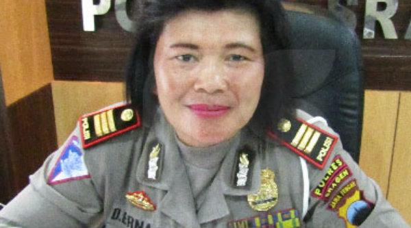 Kasubag Humas Polrestro Bekasi Kota, AKP Erna Ruswing.[DOK]