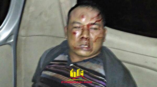 Pelaku pencurian kenderaan bermotor bersenjata api dihakimi massa di Tambun.[IST]