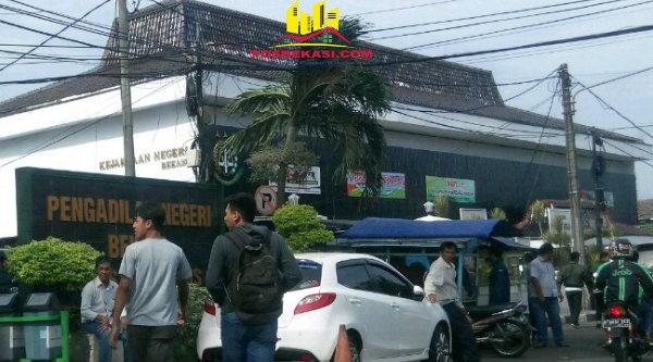 Pengadilan Negeri Bekasi, Jalan Pramuka No.81, Kota Bekasi.[HSB]