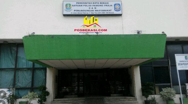 Kantor Satpol PP Kota Bekasi.[RAD]
