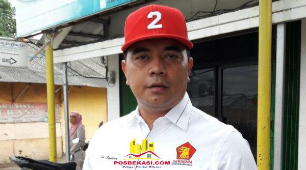 Ketua DPC Partai Gerindra Kabupaten Bekasi, H Syahrir.[IST]