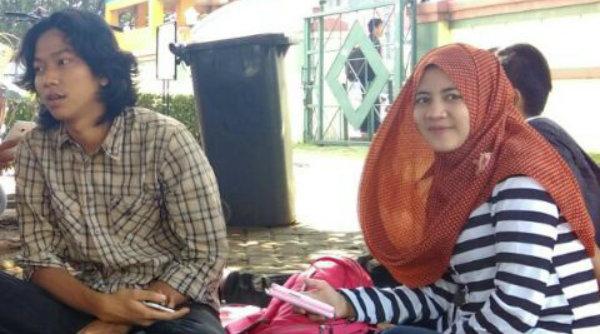 Ketua PBC Neng Ulfa dan Jubir PBC Rizki Irwansyah.[IST]