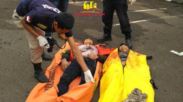 Dua rampok komplotan Lampung tewas saat baku tembak dengan Polisi.[ISH]