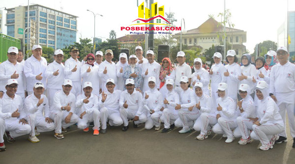Pelantikan BPKJ Kota Bekasi periode 2017-2020, Minggu 5 Pebuari 2017.[BEN]