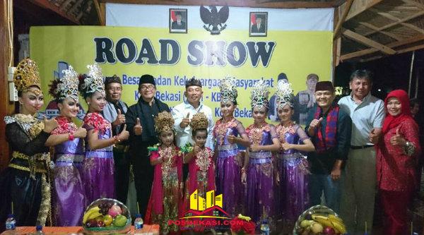 Walikota Bekasi Rahmat Effendi saat acara Road Show BKM-KB di Kampung Kranggan Wetan, Rabu 8 Februari 2017.[BEN]