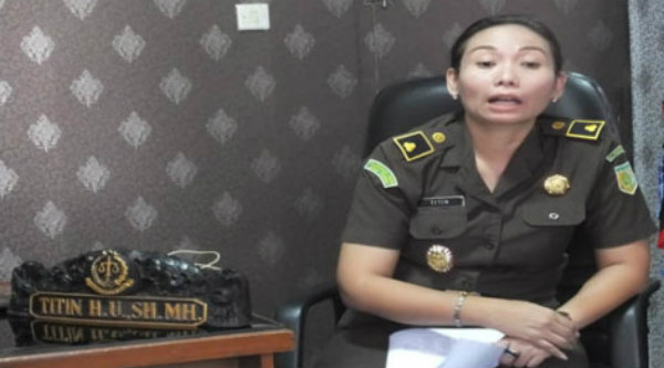 Kasi Pidsus Kejati Karawang Titin Herawati Utara.[IST]