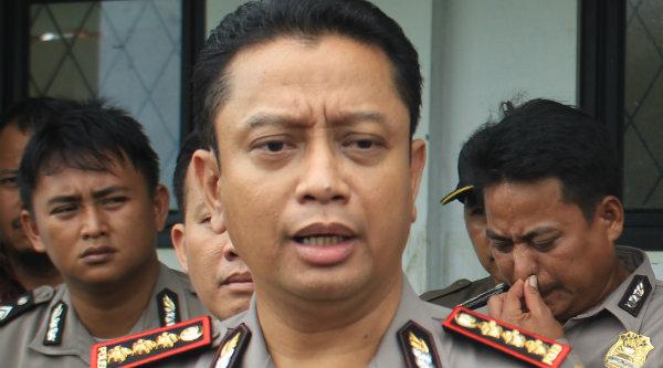 Kapolres Metro Bekasi, Kombes Pol Asep Adi Saputra.[IST]