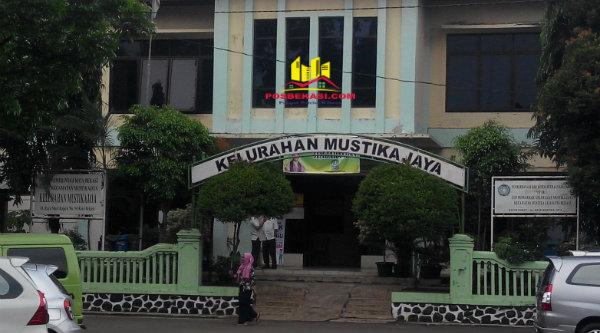 Kantor Kelurahan Mustika Jaya.[YAN]