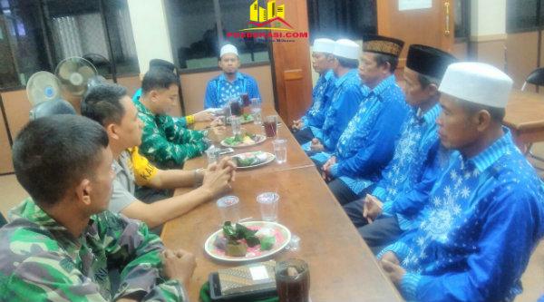Kapolsek Setu AKP Agus Rohmat hadiri silaturahmi Muhammadiyah dan NU.[MIN]