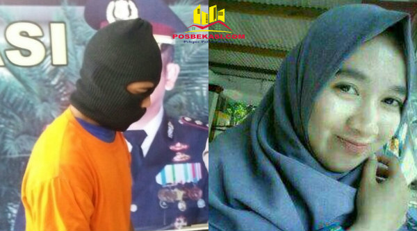 Pelaku Apin bin Obin dan Korban DN semasa hidupnya.[IST]