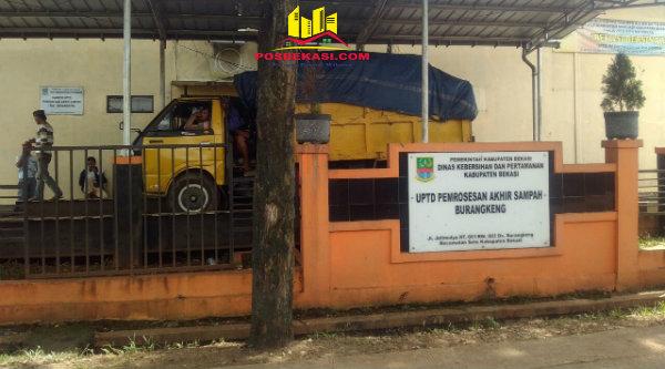 UPTD Pemrosesan Akhir Sampah, Jalan Jati Mulya RT01/03, Desa Burangkeng.[RAD]