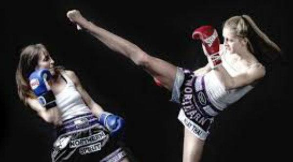 Olahraga Muay Thai.[IST]