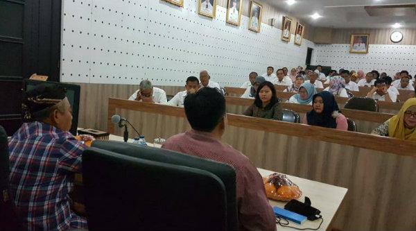 Entry meeting pemeriksaan terinci LKPD Kota Bekasi, Selasa 4 April 2017.[ISH]