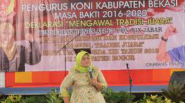 Bupati Bekasi Neneng Hasanah Yasin.[IST]