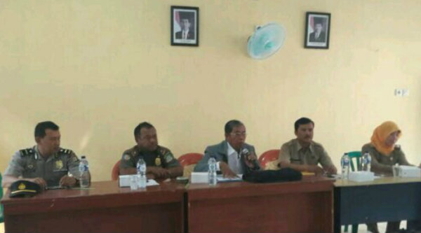 Sosialisasi FKDM di Desa Mukti Jaya, Selasa 16 Mei 2017.[IMA]