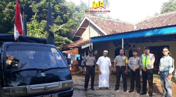 Ormas FMB sebelum melakukan perjalanan ke Jakarta untuk mengikuti isdang putusan terdakwa Ahok.[RIS]