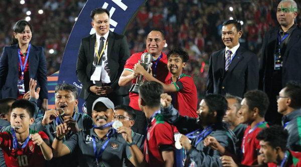 Ketum PSSI: Setelah Juarai Piala AFF, Timnas Indonesia U16 Harus Lolos Piala Dunia  Bekasi